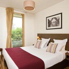 Отель Residhome Asnières 3* Апартаменты с разными типами кроватей