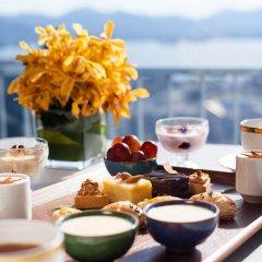 Отель Hangzhou Hua Chen International 4* Улучшенный номер с различными типами кроватей фото 4