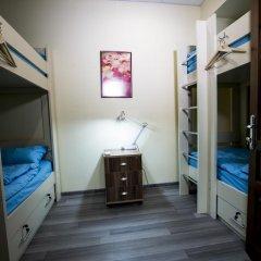 Мини-Отель City Life 2* Кровать в общем номере с двухъярусной кроватью фото 14