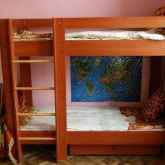Хостел Кошкин Дом Кровать в общем номере двухъярусные кровати фото 2