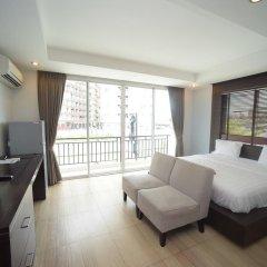 Отель Villa Navin Beach Residence 3* Номер Делюкс с различными типами кроватей фото 10