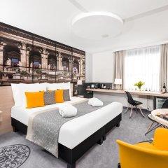 Отель Mercure Budapest City Center 4* Улучшенный номер с различными типами кроватей фото 8