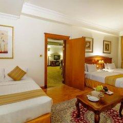 Grand Excelsior Hotel Bur Dubai 4* Стандартный номер с различными типами кроватей фото 3