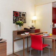 Отель Aparthotel Adagio Muenchen City 4* Студия с различными типами кроватей фото 3