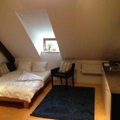 Апартаменты Metropolis Prague Apartments-zlaty Dvur Прага комната для гостей фото 2
