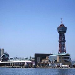Fukuoka Sunpalace Hotel And Hall Порт Хаката приотельная территория