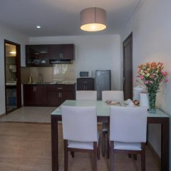 Апартаменты Song Hung Apartments Улучшенные апартаменты с различными типами кроватей