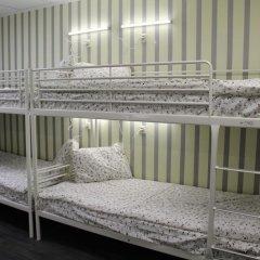 Хостел Ника-Сити Кровати в общем номере с двухъярусными кроватями фото 46