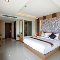 Отель Aqua Resort Phuket 4* Стандартный номер с двуспальной кроватью фото 7
