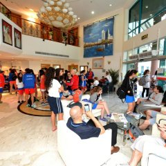 Dubai Youth Hotel фитнесс-зал