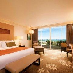Отель Marina Bay Sands 5* Номер Делюкс с двуспальной кроватью фото 4