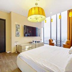 Апартаменты Sky Apartments Rentals Service Студия Делюкс с различными типами кроватей фото 10