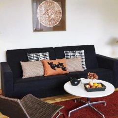Апартаменты Ascot Apartments Копенгаген комната для гостей фото 3