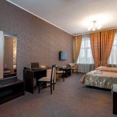 Гостиница Самара Люкс 3* Номер Бизнес двуспальная кровать фото 6
