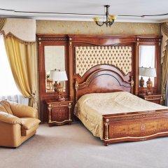 Гостиница Золотое Кольцо Кострома Люкс с двуспальной кроватью фото 10