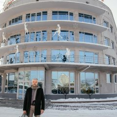 Отель Маяк (корпус Омь) Омск спортивное сооружение