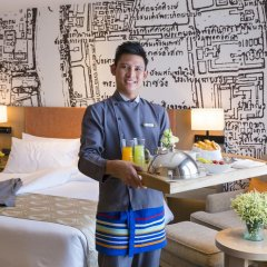 Отель Grand Mercure Bangkok Fortune 4* Номер Делюкс с различными типами кроватей фото 3