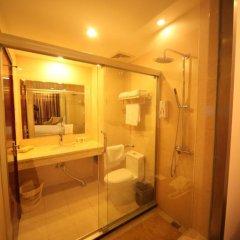 GreenTree Inn Jiangxi Jiujiang Shili Avenue Business Hotel 2* Номер Бизнес с различными типами кроватей фото 3