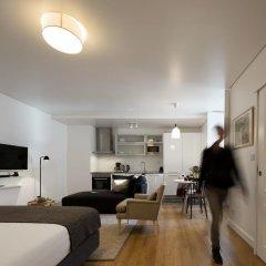 Апартаменты Lisbon Serviced Apartments Baixa Castelo Студия с различными типами кроватей фото 4