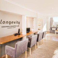 Отель Longevity Cegonha Country Club Пешао интерьер отеля