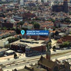 Отель Pokoje Old Town Gdańsk спортивное сооружение
