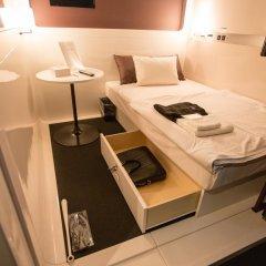 Отель First Cabin Atagoyama Япония, Токио - отзывы, цены и фото номеров - забронировать отель First Cabin Atagoyama онлайн сейф в номере