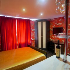 Гостиница Теремок Заволжский Апартаменты разные типы кроватей фото 32