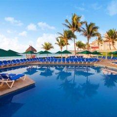 Отель Royal Solaris Cancun - Все включено Мексика, Канкун - 8 отзывов об отеле, цены и фото номеров - забронировать отель Royal Solaris Cancun - Все включено онлайн бассейн фото 4
