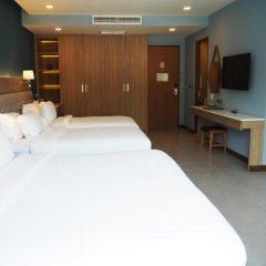 Отель BlueSotel Krabi Ao Nang Beach 4* Семейный номер Делюкс с различными типами кроватей фото 2