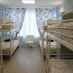 Хостел Ника-Сити Кровать в женском общем номере с двухъярусными кроватями фото 8