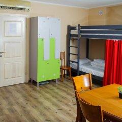 Hogwarts Hostel Кровать в общем номере с двухъярусной кроватью фото 4