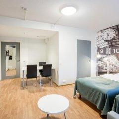 Отель Forenom Aparthotel Helsinki Herttoniemi Стандартный номер с различными типами кроватей фото 8