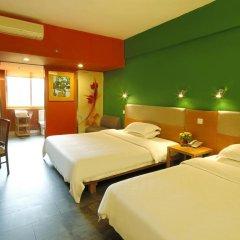 Отель 4th Zhongshan Road Garden Inn 3* Стандартный номер с 2 отдельными кроватями