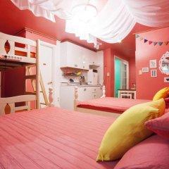 Отель Han River Guesthouse 2* Семейная студия с двуспальной кроватью фото 10