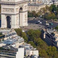 Отель Des Pavillons Париж балкон