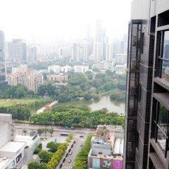 Апартаменты Shenzhen Wozhan Apartment K K Mall балкон