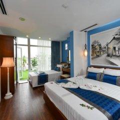 Nova Hotel 3* Семейный люкс с двуспальной кроватью фото 6