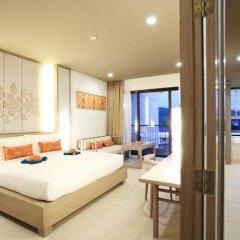 Отель Proud Phuket 4* Улучшенный номер с двуспальной кроватью фото 3