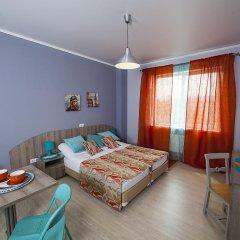 Hotel Lokatsia Апартаменты с разными типами кроватей фото 10