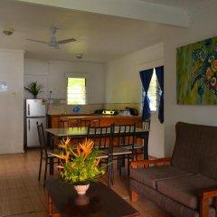 Отель Daku Resort Savusavu 3* Коттедж с различными типами кроватей фото 6