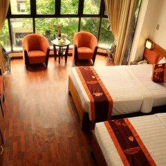 Hanoi Little Center Hotel 3* Стандартный номер разные типы кроватей фото 2