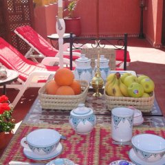 Отель Dar Yanis Марокко, Рабат - отзывы, цены и фото номеров - забронировать отель Dar Yanis онлайн питание фото 3
