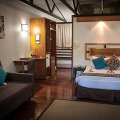Отель First Landing Beach Resort & Villas 3* Бунгало с различными типами кроватей фото 10