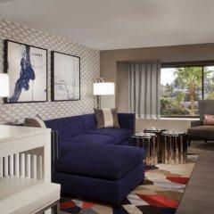 Отель Beverly Hills Marriott 4* Люкс с различными типами кроватей фото 4