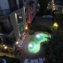Отель Villa Brigantina Болгария, Солнечный берег - 1 отзыв об отеле, цены и фото номеров - забронировать отель Villa Brigantina онлайн бассейн