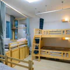 Отель I'm Green House 3* Кровать в общем номере с двухъярусной кроватью фото 8
