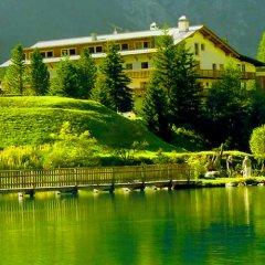 Hotel Alpenhof Стельвио приотельная территория