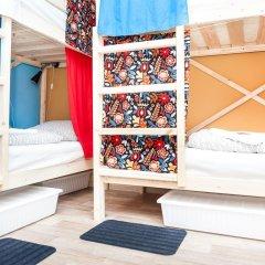 Гостиница Hostels Rus Vnukovo Кровати в общем номере с двухъярусными кроватями фото 4