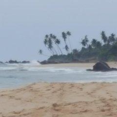 Отель White Villa Ambalangoda пляж фото 2
