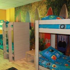 Хостел FoxHole Кровать в общем номере двухъярусные кровати фото 8